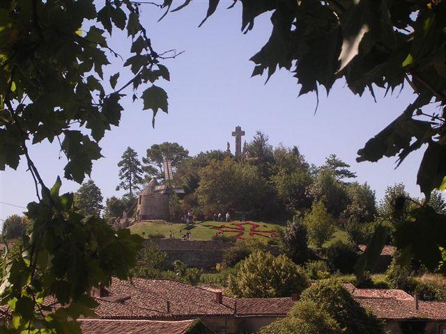 Mes vacances d'été à Lautrec, petit village du Pays de Cocagne Salette%202004
